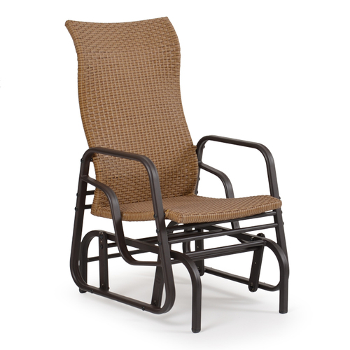 Empire Outdoor Wicker Single Glider