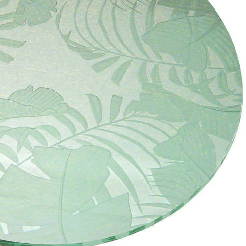Baja Carved Glass Table Top