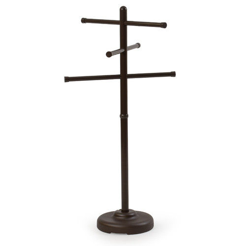 Portable Outdoor Towel Tree Bronze