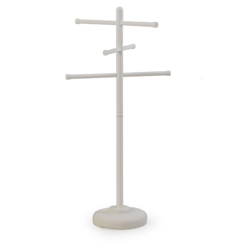 Portable Outdoor Towel Tree White