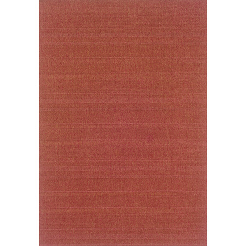 Lanai Indoor/Outdoor Red Rug