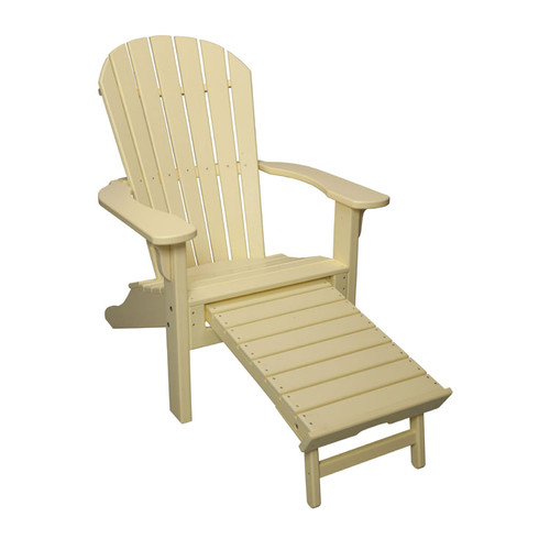 Adirondack Chair with Pull Out Ottoman (Ottoman Out)