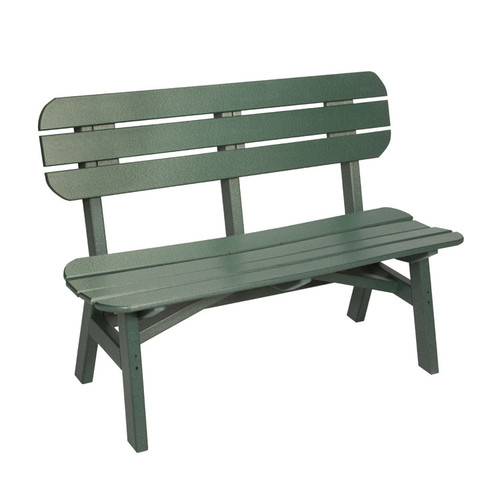 "Oceanside Outdoor 48"" Poly Lumber Bench"