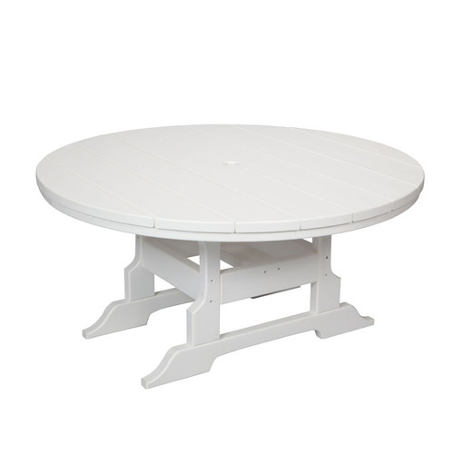 "Oceanside Outdoor 42"" Round Poly Lumber Conversation Table"