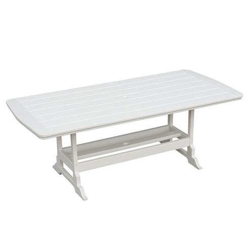 Poly Lumber Patio Rectangular Dining Table