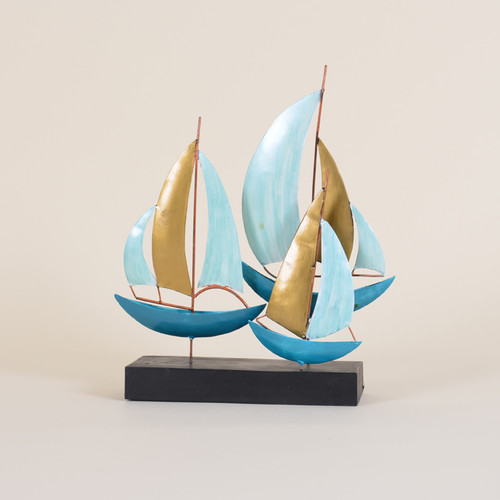 Indoor Sailboats on a Stand