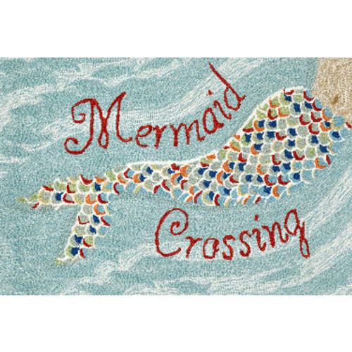 Mermaid Crossing  Welcome Mat
