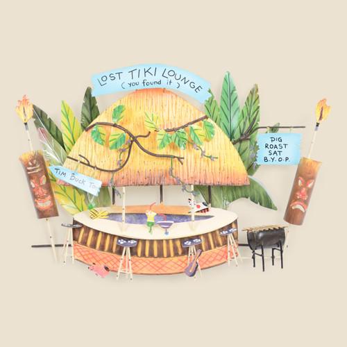 Lost Tiki Lounge Bar & Grill Wall Art