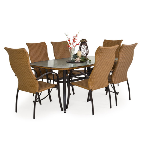 Empire 7 Piece Outdoor Dining Set