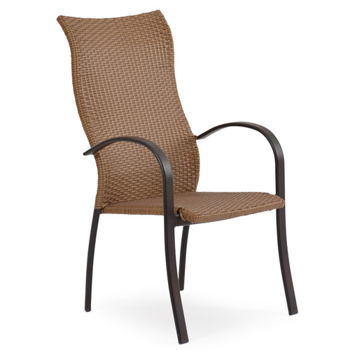 Empire Outdoor High Back Dining Chair