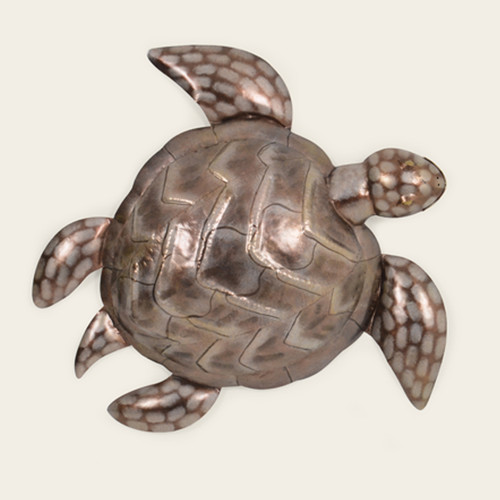 Indoor Large Metal Sea Turtle