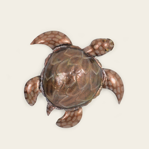 Indoor Small Metal Sea Turtle