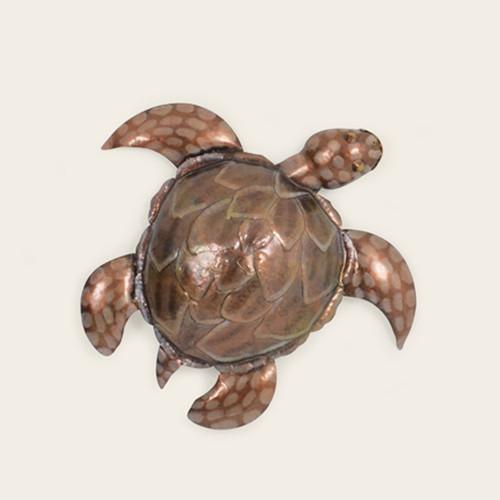 Indoor Small Metal Sea Turtle