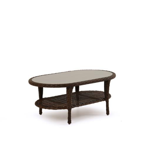 Kokomo Outdoor Wicker Oval Cocktail Table