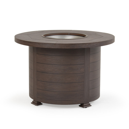 "Maldives Outdoor 36"" Round Fire Pit (Black Walnut)"