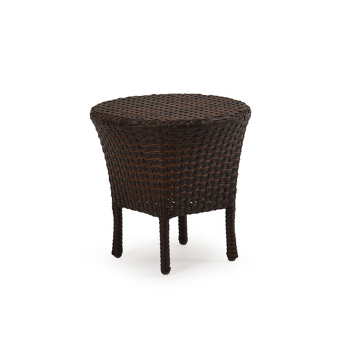 Kokomo Outdoor Wicker Tea Table (Tortoise Shell)