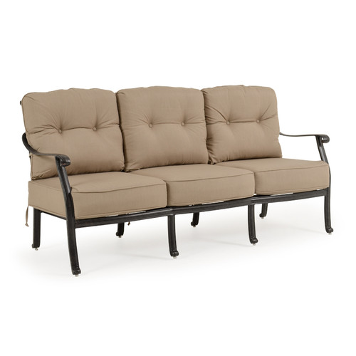 Charleston Outdoor Cast Aluminum Sofa