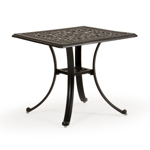Charleston Outdoor Cast Aluminum End Table