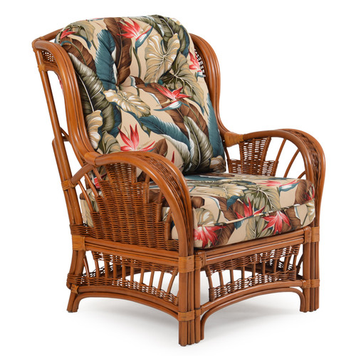 Bali Indoor Rattan High Back Chair