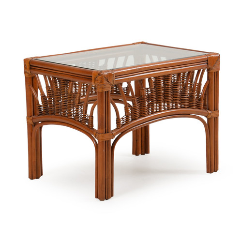 Bali Indoor Rattan End Table