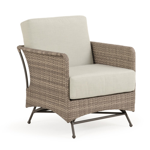 Garden Terrace Outdoor Wicker Spring Chair