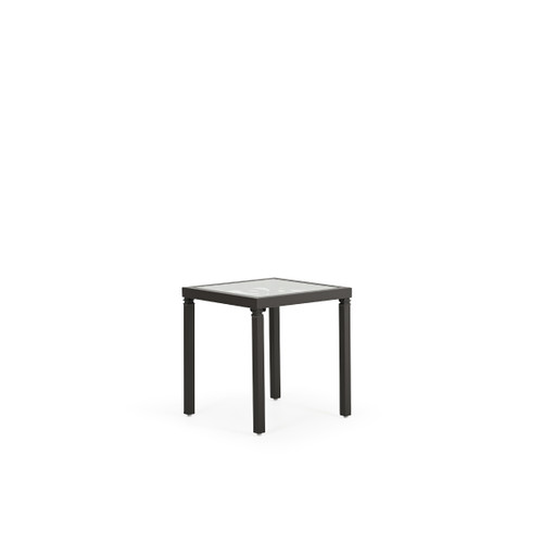 """Serenity Outdoor Aluminum 20"""" Square End Table"""