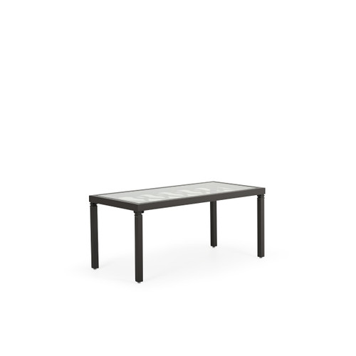 Serenity Outdoor Aluminum Rectangle Cocktail Table