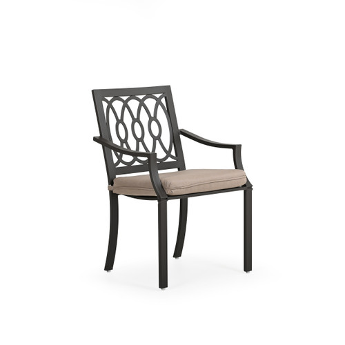 Serenity Outdoor Aluminum Dining Arm Chair