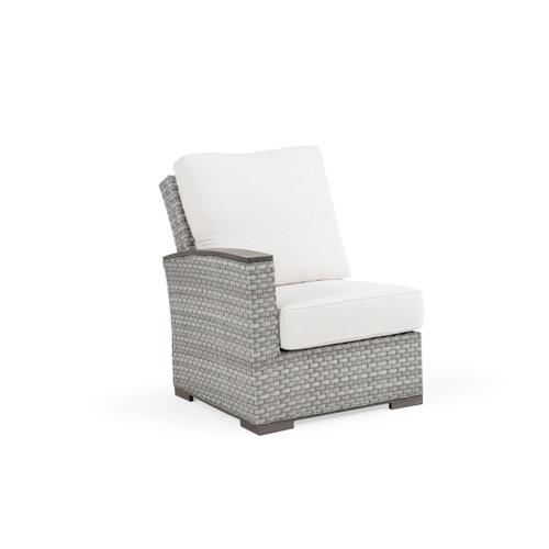 Retreat Outdoor Wicker Left Facing Arm Chair