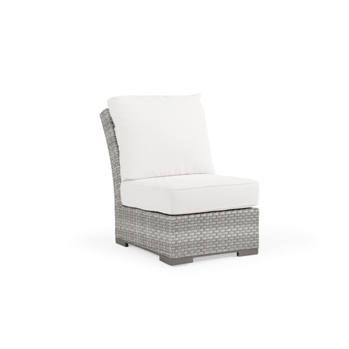 Retreat Outdoor Wicker Armless Chair