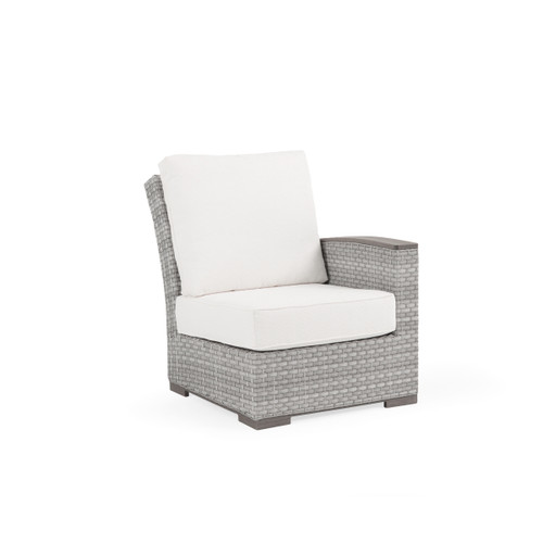 Retreat Outdoor Wicker Right Facing Arm Chair