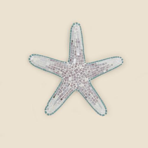 Indoor Large Mosaic Starfish
