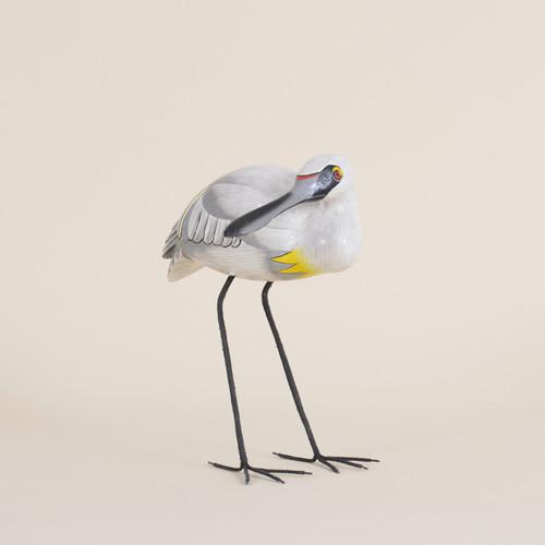 Indoor Wooden Spoonbill Bird