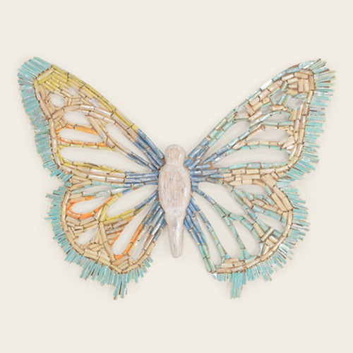 Indoor Colorful Wooden Butterfly