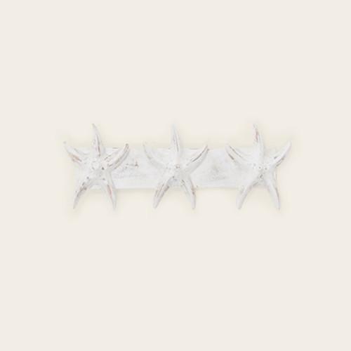 Indoor Triple Starfish Wall Hooks