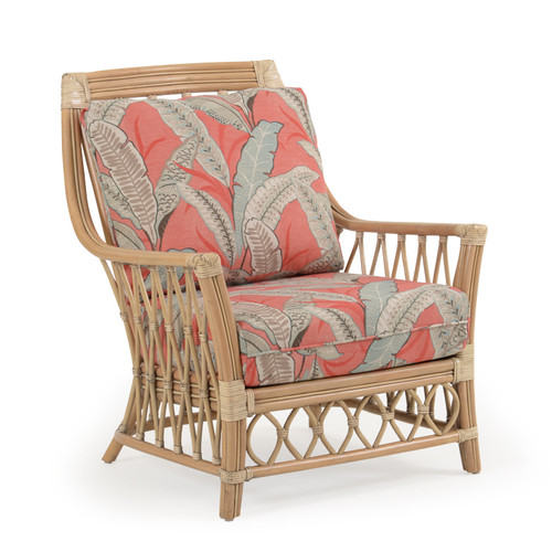 Tortuga Rattan High Back Chair (Sun Bleached)