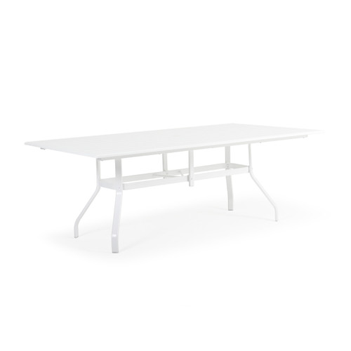 "Tobago Outdoor 42"" x 76"" Rectangle Polymer Dining Table"