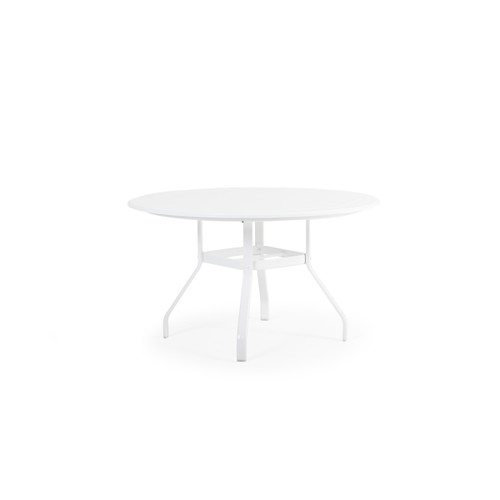 "Tobago Outdoor 48"" Round Polymer Dining Table"