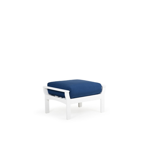 Tobago Outdoor Ottoman with Deep Seating Cushion