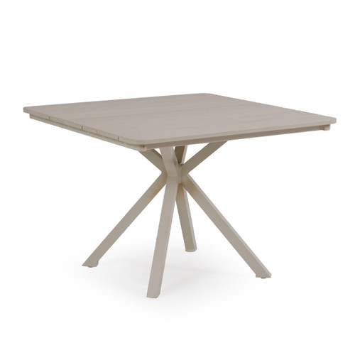 "Sand Key 40"" Square Marine Grade Polymer Top Dining Table"
