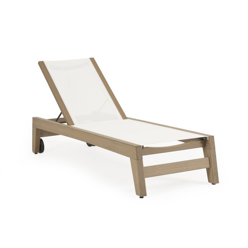 Maui Outdoor Sling Chaise Lounge