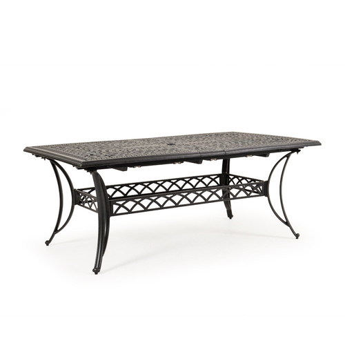 Charleston Outdoor Rectangle Extension Dining Table (Not Extended)