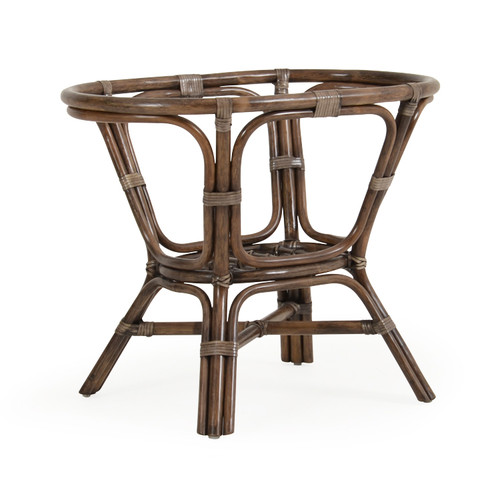 Islamorada Indoor Rattan Oval Dining Base (Espresso Finish)