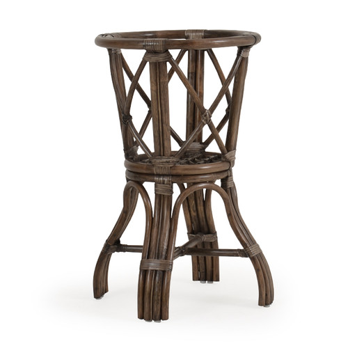 Islamorada Indoor Rattan Counter Height Table Base (Espresso Finish)