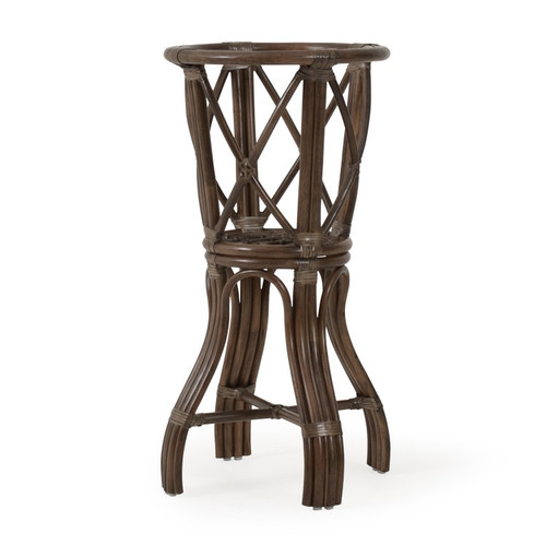 Swell Islamorada Indoor Rattan Bar Height Table Base Squirreltailoven Fun Painted Chair Ideas Images Squirreltailovenorg