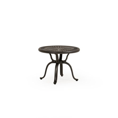 "Torino Outdoor Cast Aluminum 22"" Tea Table"