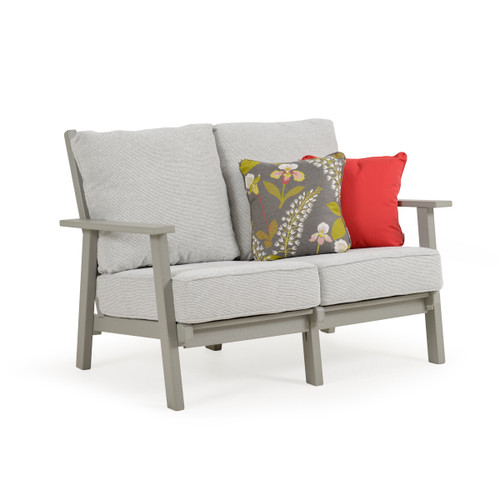 Marina Outdoor High Back Loveseat
