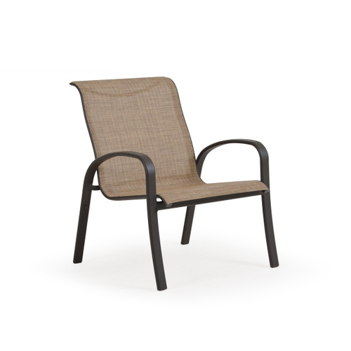 Madeira Club Chair in Charcoal with Sand Dune Sling