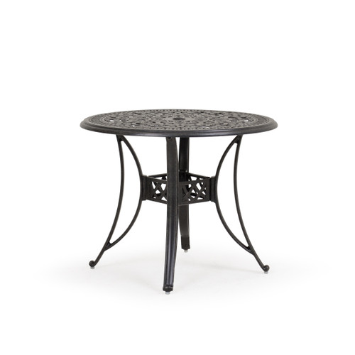"Charleston Outdoor Cast Aluminum 36"" Round Dining Table"
