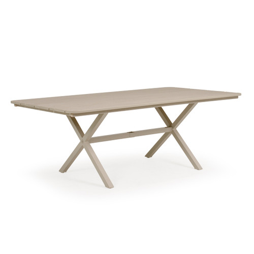 "Sand Key 42"" x 76"" Rectangle Marine Grade Polymer Top Dining Table"